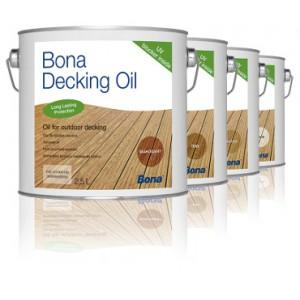 Bona Deck Oil - Huile pour Lame de Terrasse 2,5  L
