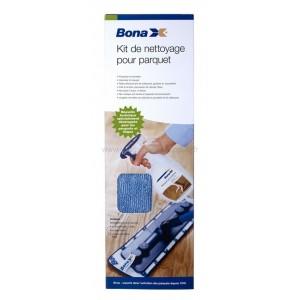 Bona Kit d'entretien complet pour parquets (STARTER KIT) + 1 Pad Poussière OFFERT